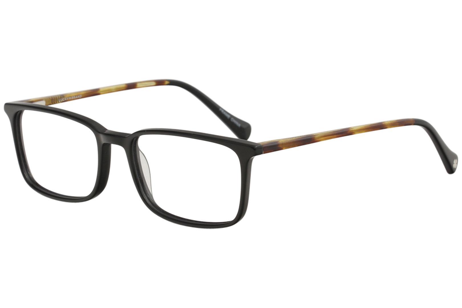 Lucky Brand Men\'s Eyeglasses D406 D/406 Full Rim Optical Frame