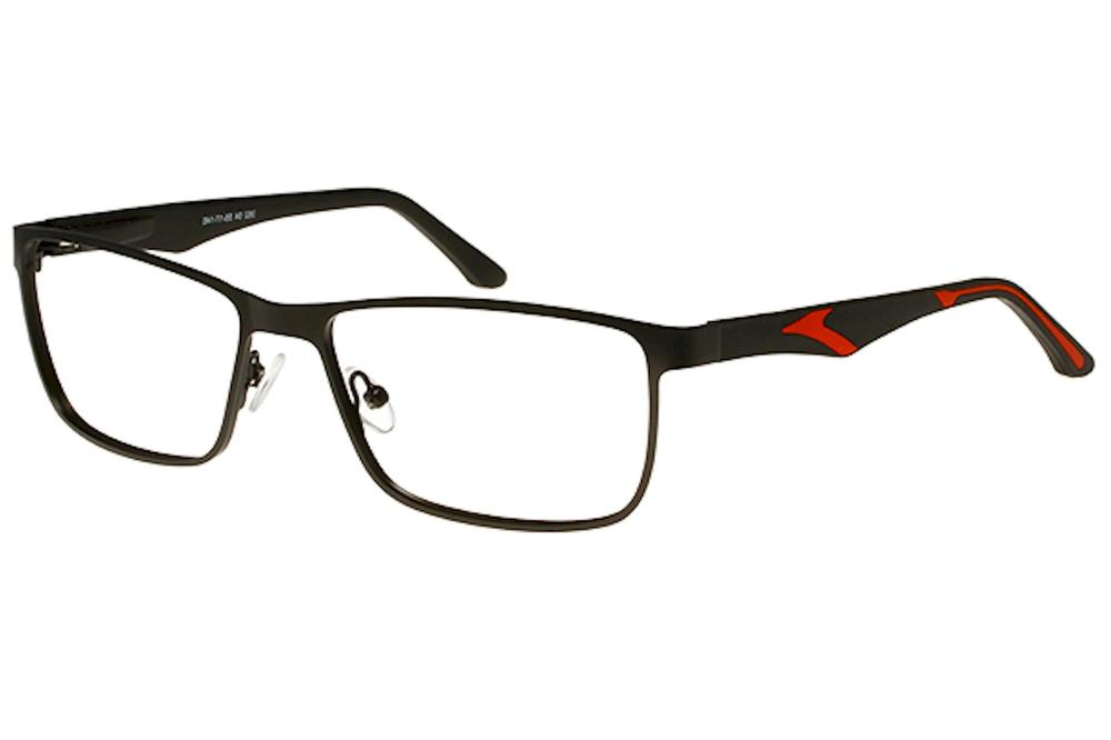 8fce8894ec Bocci Men s Eyeglasses 382 Full Rim Optical Frame by Bocci. Touch to zoom