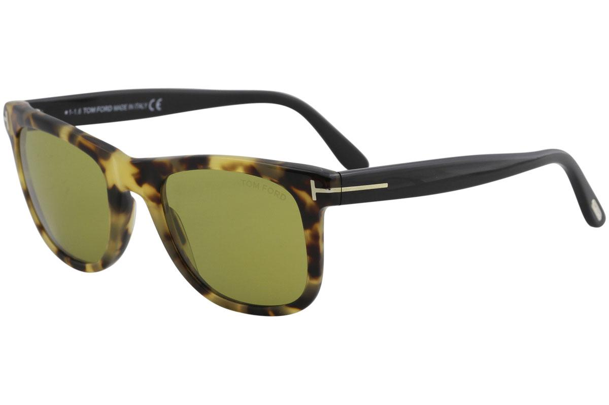 f151fc5813 Tom Ford Men s Leo TF336 TF 336 Square Fashion Sunglasses