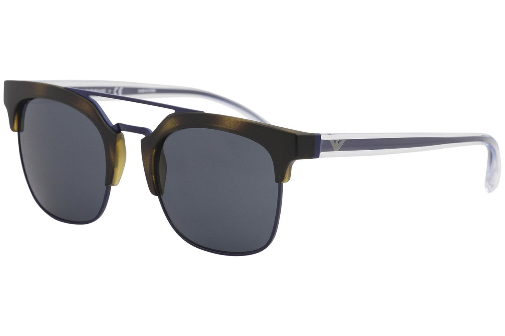e802669c69e Emporio Armani Men s EA4093 EA 4093 Fashion Square Sunglasses