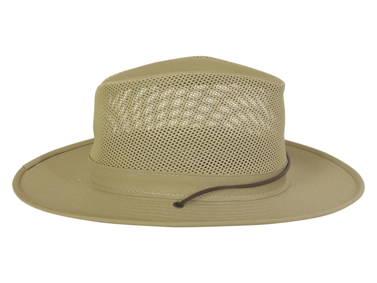 9b5b00f42 Henschel Men's UV Protection Mesh Aussie Breezer Hat