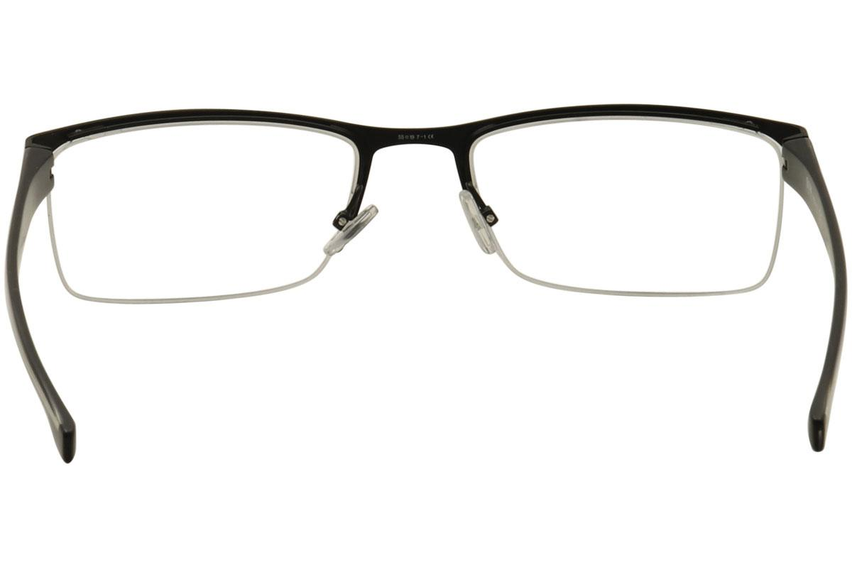 4c0d941aa9c Hugo Boss Men s Eyeglasses 0878 Half Rim Optical Frame by Hugo Boss