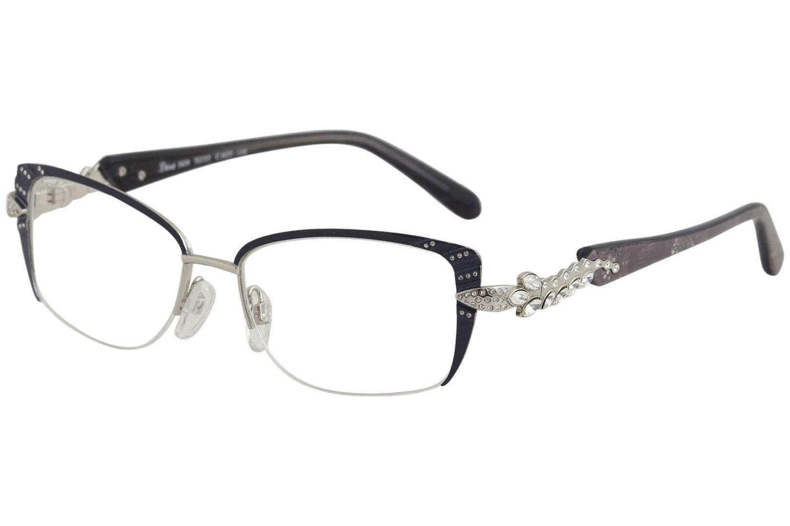 Diva Women\'s Eyeglasses 5434 Half Rim Optical Frame