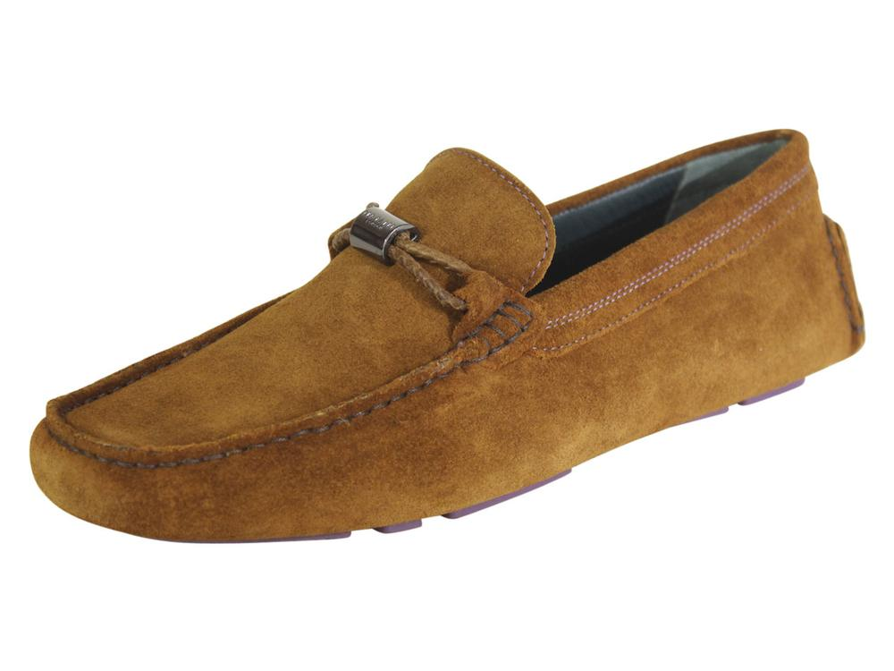 4dcc1d5a71f Ted Baker Men s Carlsun Suede Driving Loafers Shoes