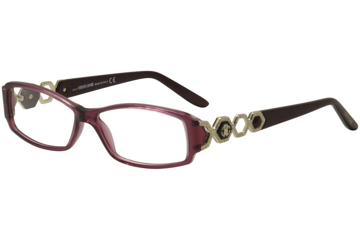 Roberto Cavalli Women\'s Eyeglasses Giamaica 709 Full Rim Optical Frame