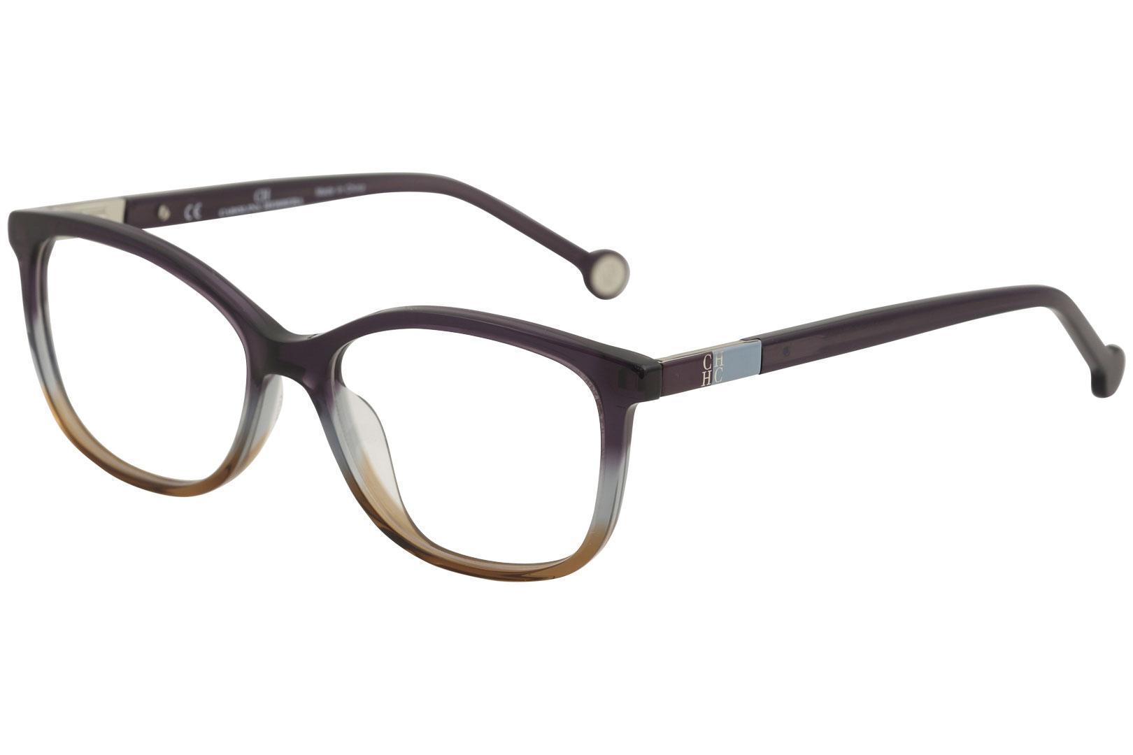 5f9c3d34f6 CH Carolina Herrera Women s Eyeglasses VHE674K VHE 674K Full Rim Optical  Frame