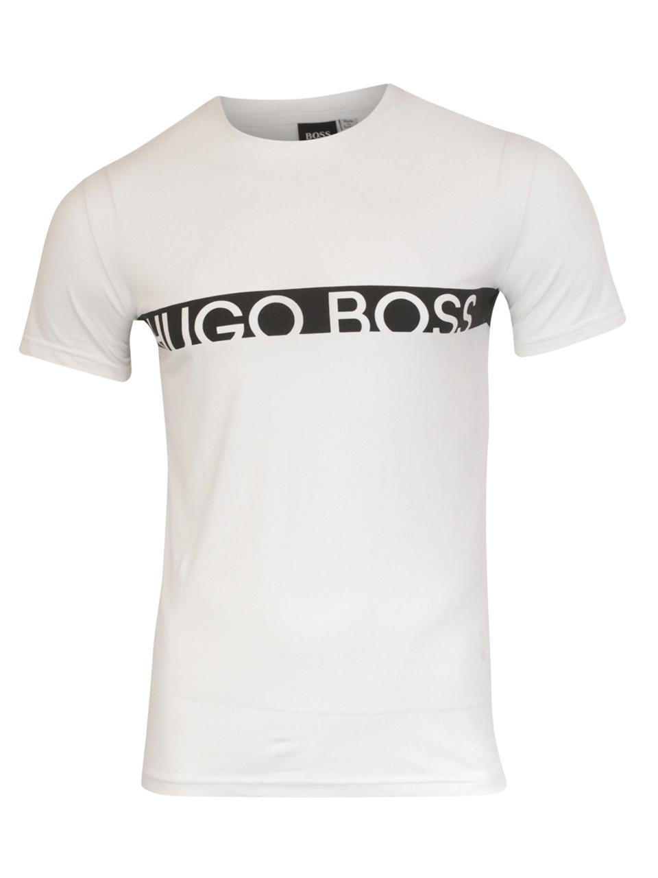 5e039be4 Hugo Boss Men's T-Shirt-RN Short Sleeve Crew Neck Cotton T-Shirt