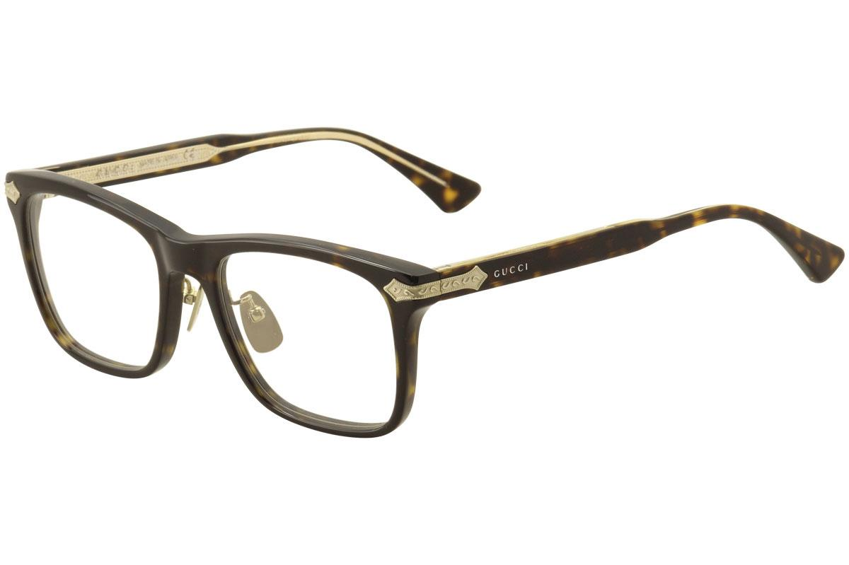 fffa1f7c02d Gucci Men s Eyeglasses GG0069O GG 0069O Full Rim Optical Frame