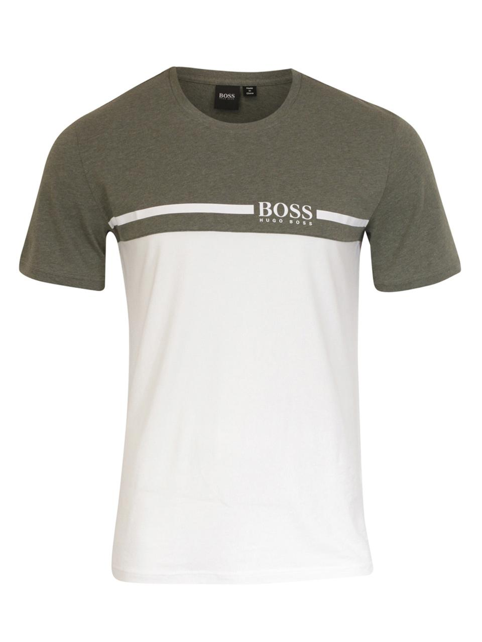 907e06ceb3e Hugo Boss Men's Trend Short Sleeve Crew Neck T-Shirt
