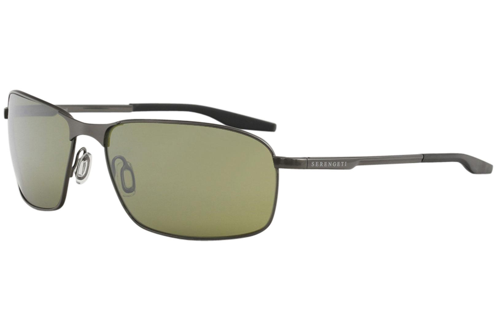 f6af21b0976d8 Serengeti Men s Varese Fashion Rectangle Sunglasses by Serengeti. Touch to  zoom