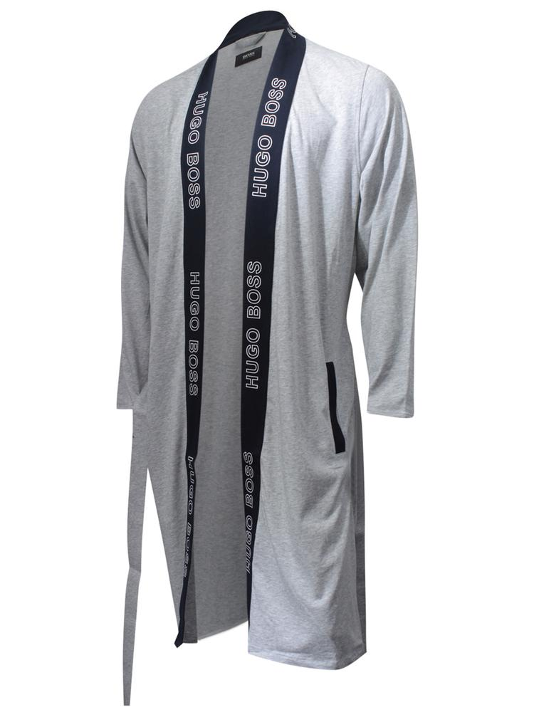 c9de9098 Hugo Boss Men's Identity Kimono Cotton Dressing Gown Robe