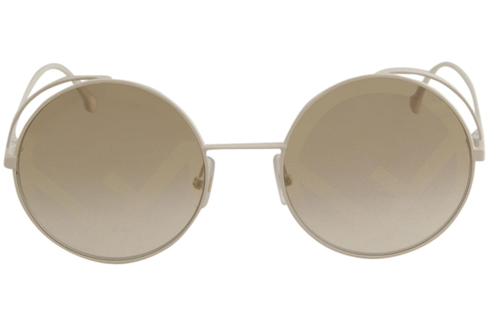 17fe0caaf Fendi Women's FF0343S FF/0343/S Fashion Round Sunglasses by Fendi