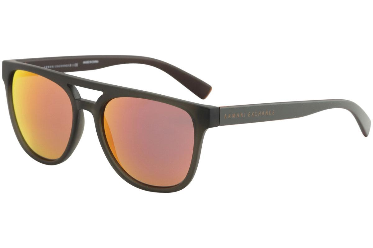 Image of Armani Exchange Men's AX4032 AX/4032 Pilot Sunglasses - Green - Lens 56 Bridge 17 Temple 140mm