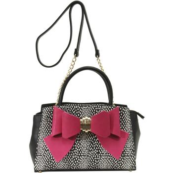 Betsey Johnson Women's Bow You See It Dotty Removable Bow Satchel Handbag UPC: