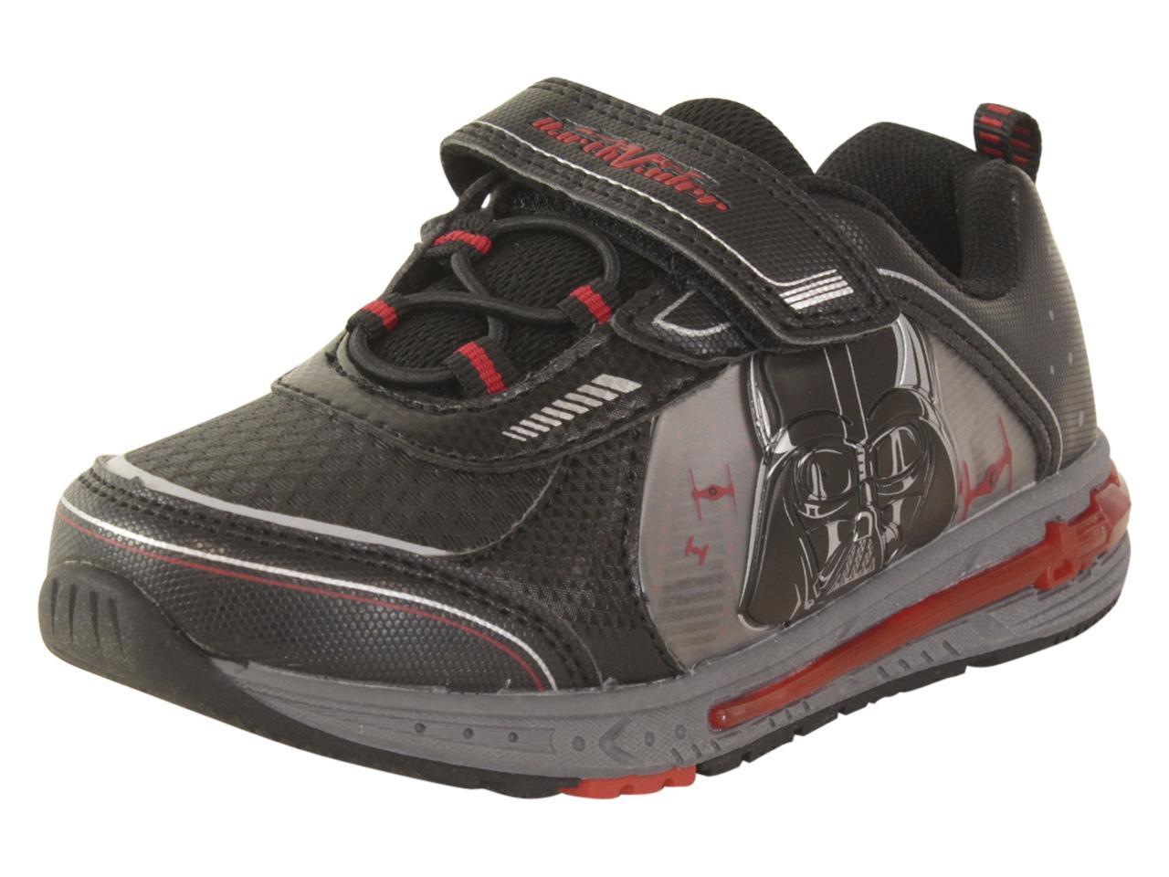 Star Wars Sneakers >> Disney Toddler Little Boy S Star Wars Light Up Sneakers Shoes