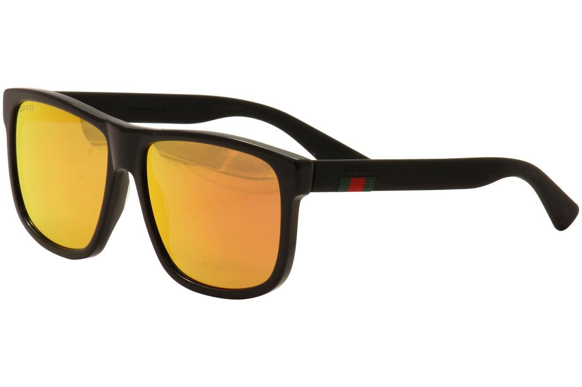 72edbf29342 Gucci Men s GG0010S GG 0010 S Sunglasses by Gucci. Touch to zoom