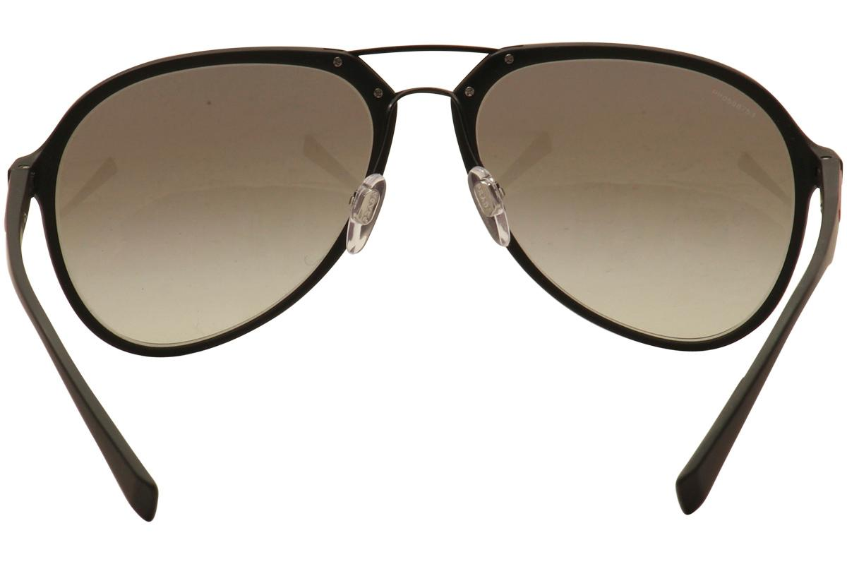 54f1f15a38 Prada Linea Rossa Men s SPS05R SP S05R Fashion Pilot Sunglasses