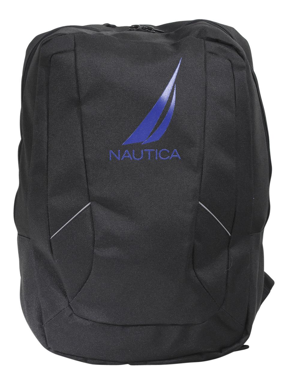 Image of Nautica Boy's J Class Water Repellant Backpack - Black