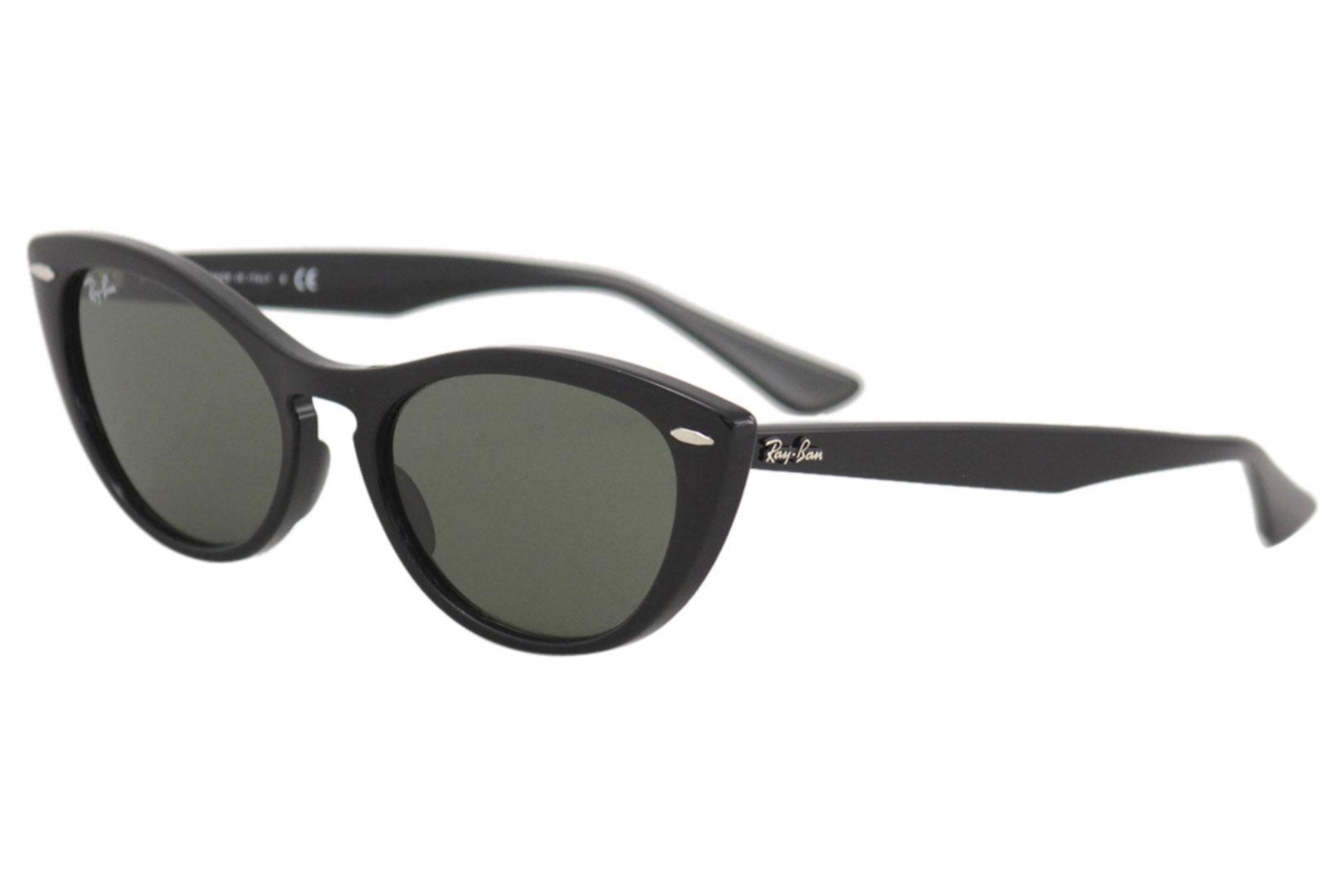 7471c2eda7 Ray Ban Women s Nina RB4314N RB 4314 N Fashion Cat Eye RayBan Sunglasses