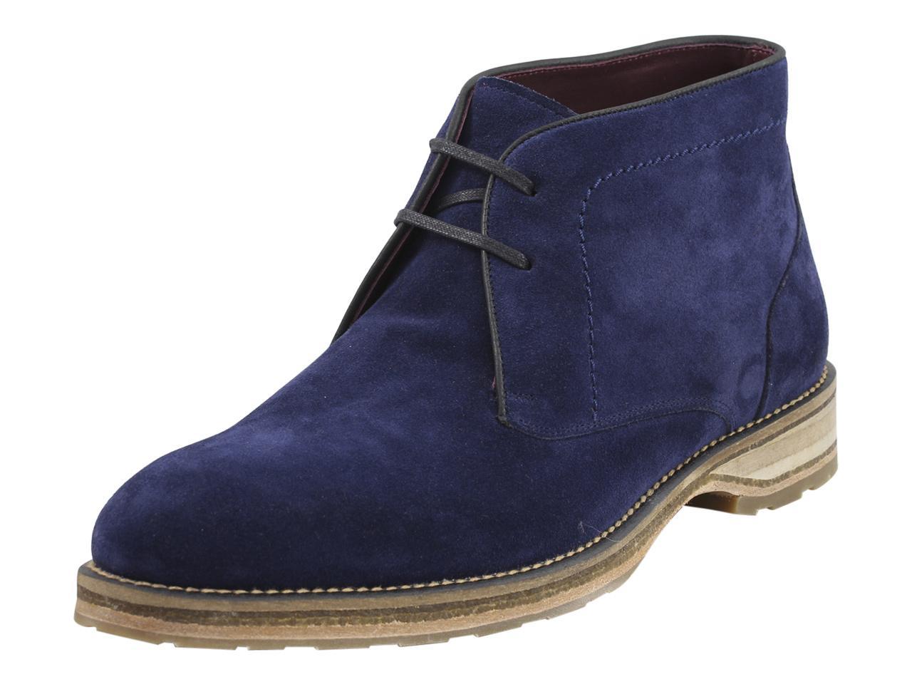 Image of Mezlan Men's Dalias Chukka Boots Shoes - Blue - 10 D(M) US