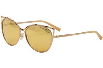 60f3442fe6 Michael Kors Women s Ina MK1020 MK 1020 Fashion Cat Eye Sunglasses by  Michael Kors