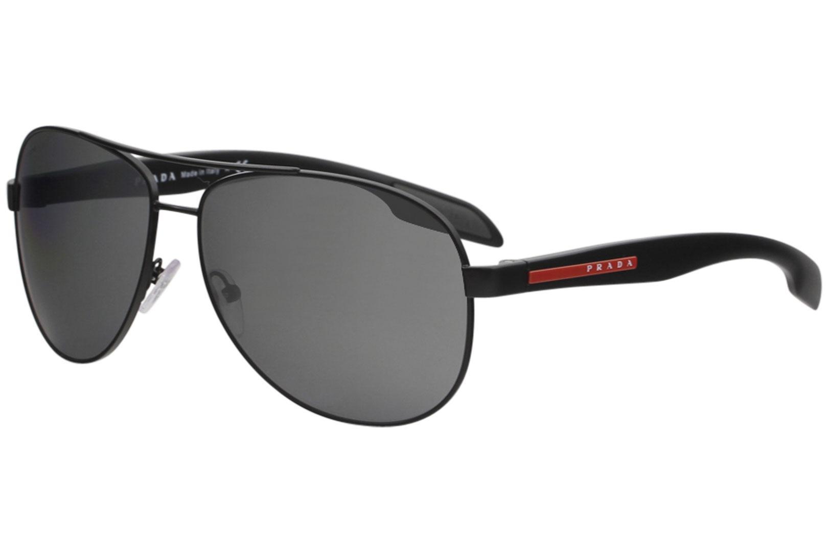 Prada Linea Rossa Men's SPS53P SPS/53P Fashion Pilot Sunglasses