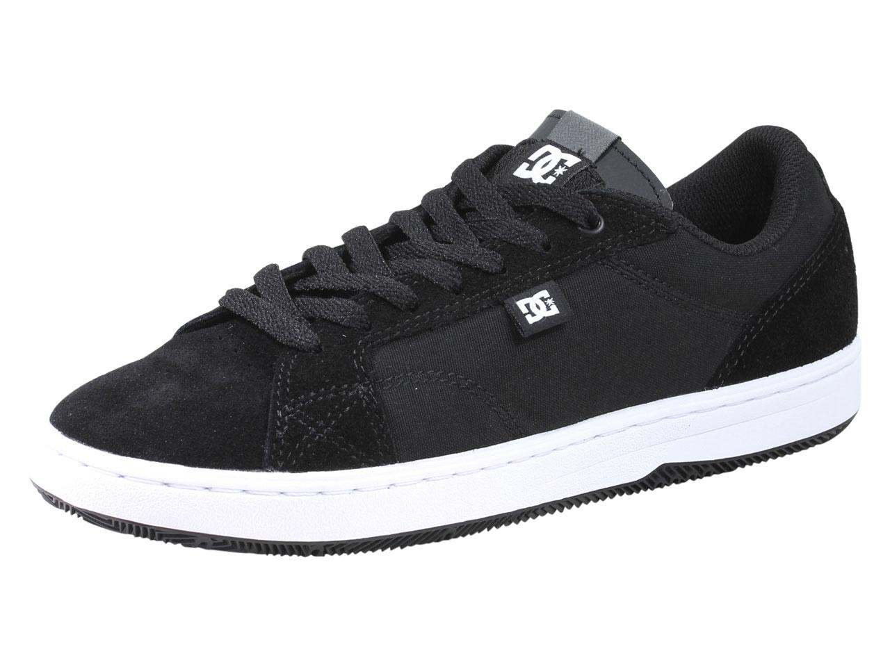 Image of DC Men's Astor Skateboarding Sneakers Shoes - Black - 8 D(M) US