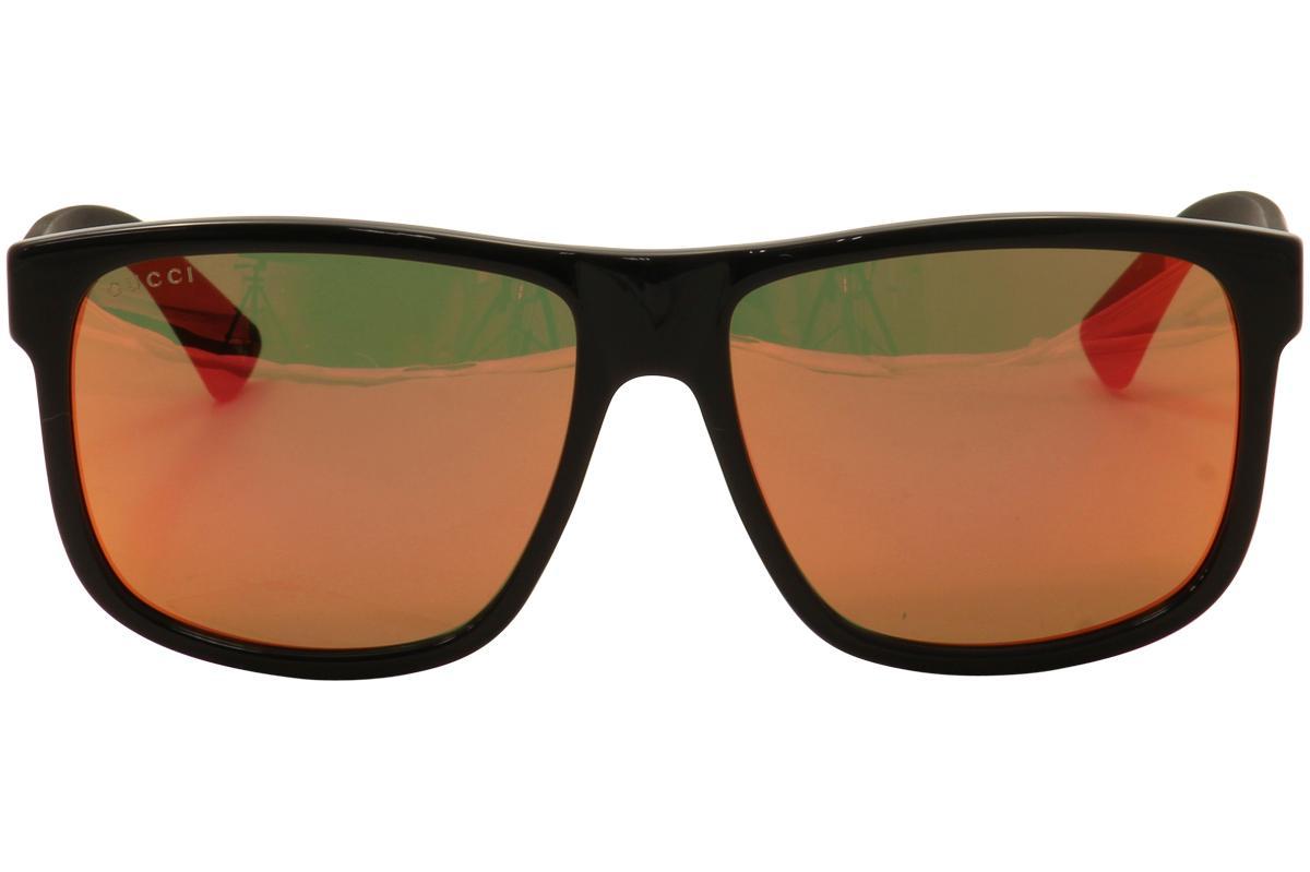 699c7fc458fb9 Gucci Men s GG0010S GG 0010 S Sunglasses by Gucci. 1234