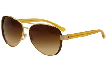9d3487aadb58 Tory Burch Women's TY6052 TY/6052 Fashion Pilot Sunglasses by Tory Burch