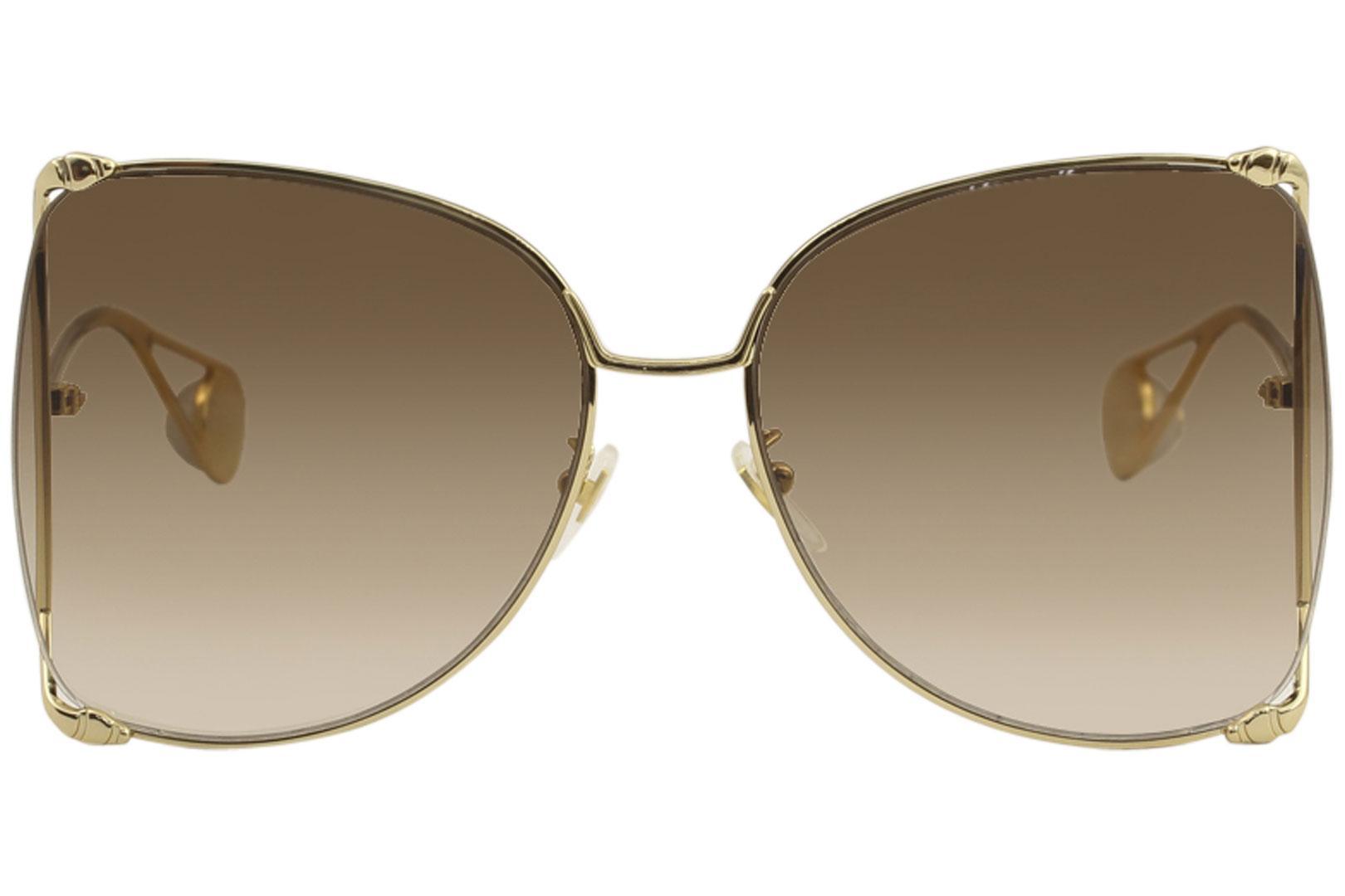 579c73a6b94 Gucci Women s Sensual Romantic GG0252S GG 0252 S Fashion Butterfly  Sunglasses