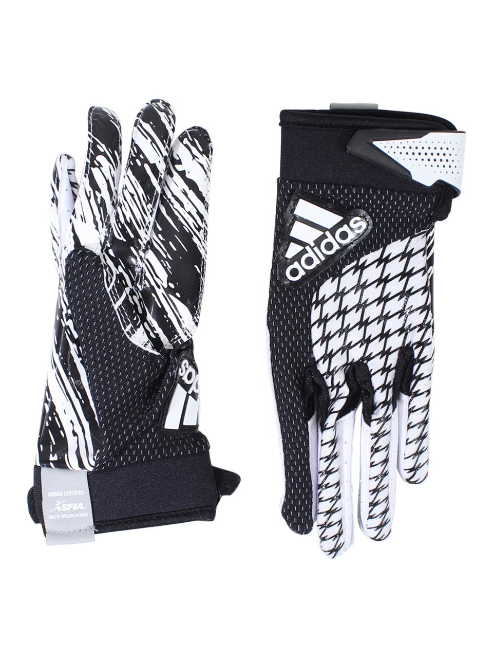 Image of Adidas Boy's Youth adiFAST 2.0 Padded Football Gloves - Black - X Large