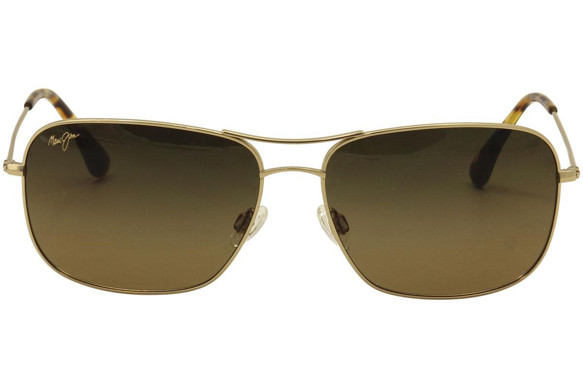 43fa1bc4fc Maui Jim Men s Breeze Way MJ773 MJ 773 Polarized Pilot Fashion Sunglasses  by Maui Jim. 12345