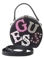 Guess Women's Lizzy Round Mini Satchel Handbag UPC:
