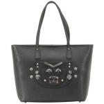 Guess Women's Cyber Rock Saffiano Tote Handbag
