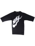 Nike Big Boy's Solid Half Sleeve Hydroguard Shirt Swimwear UPC: