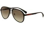 Prada Linea Rossa Men's SPS05R SP/S05R Fashion Pilot Sunglasses UPC: