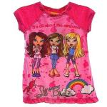 Lil' Bratz Girl's Pink Nightgown Pajama Sleepwear With Sleeping Mask UPC: