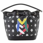 Love Moschino Women's Logo Bucket Satchel Handbag UPC: