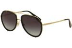 Dolce & Gabbana Woman's DG2161 DG/2161 Fashion Pilot Sunglasses UPC: