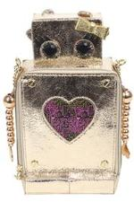 Betsey Johnson Women's Kitsch Love Machine Crossbody Handbag UPC: