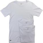 Lacoste Men's 3-Pc Essentials Cotton Crew Neck Short Sleeve T-Shirt UPC: