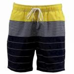 Nautica Men's Key Item Heirloom Stripe Swimwear Trunks Shorts UPC: