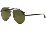 Gucci Men's GG0043SA GG/0043/SA Pilot Sunglassess (Asian Fit) UPC: