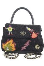Betsey Johnson Women's Curly Gurl Top Handle Crossbody Handbag UPC: