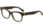 Alexander McQueen Women's Eyeglasses AM 0005O 0005/O Full Rim Optical Frame UPC: