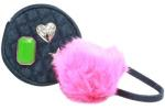 Guess Women's Mix Match Pom-Pom Keychain Gifting Pouch Handbag UPC: