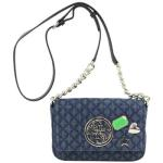 Guess Women's G Lux Mini Quilted Flap-Over Crossbody Handbag UPC: