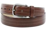 Trafalgar Men's Terrance Genuine Cortina Leather Belt UPC: