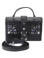 Guess Women's Britta Mini Trunk Handbag UPC: