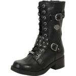 Harley Davidson Women's Merrion Studded Boots Shoes UPC: